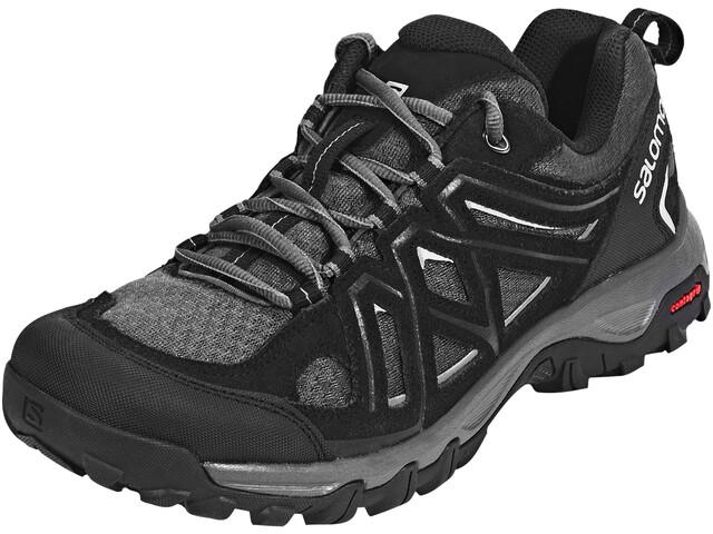 1d8febe85 Salomon Evasion 2 Aero Shoes Men black/magnet/alloy